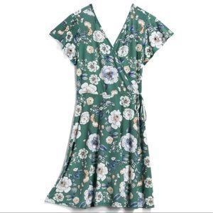 Kaileigh Kaela Faux Wrap Knit Dress Stitch Fix